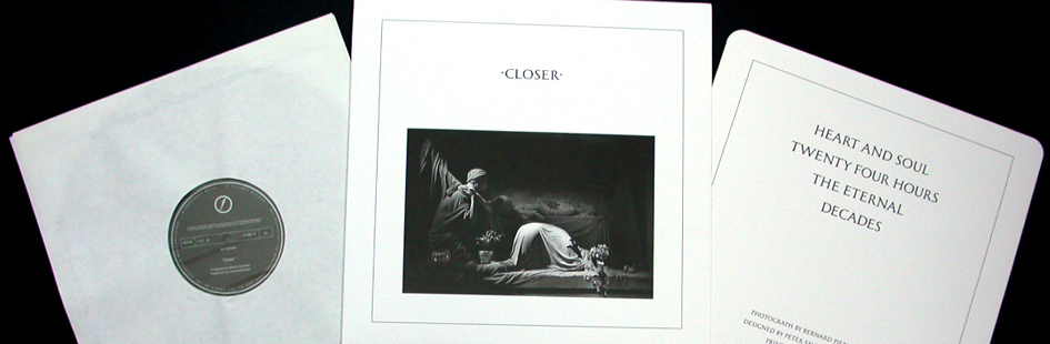 SE REEDITA 'CLOSER' DE JOY DIVISION, PIEDRA ANGULAR DEL ROCK GÓTICO